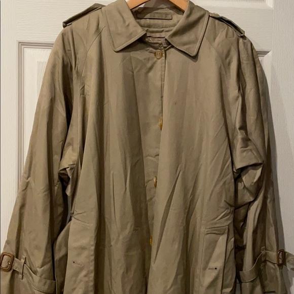 Burberry men's car coat trench coat